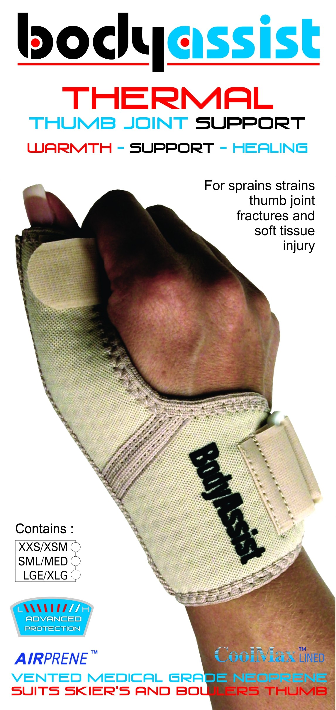 Thermal Thumb Joint Support
