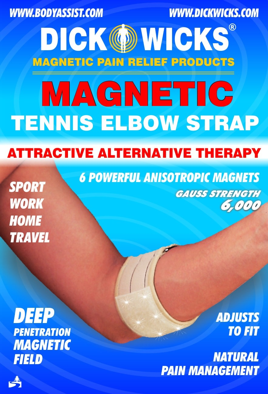Dick Wicks Magnetic Tennis Elbow Support