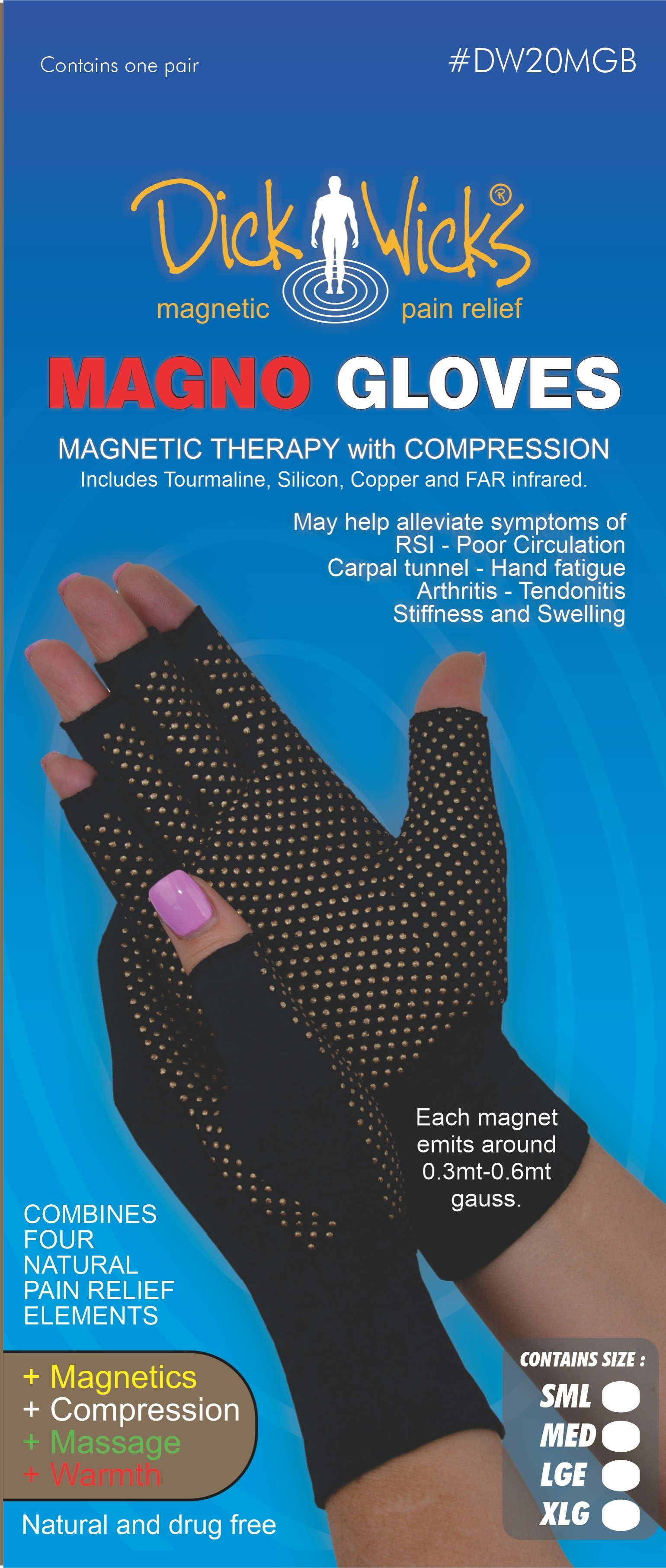 Dick Wick Magno Gloves (Pair)