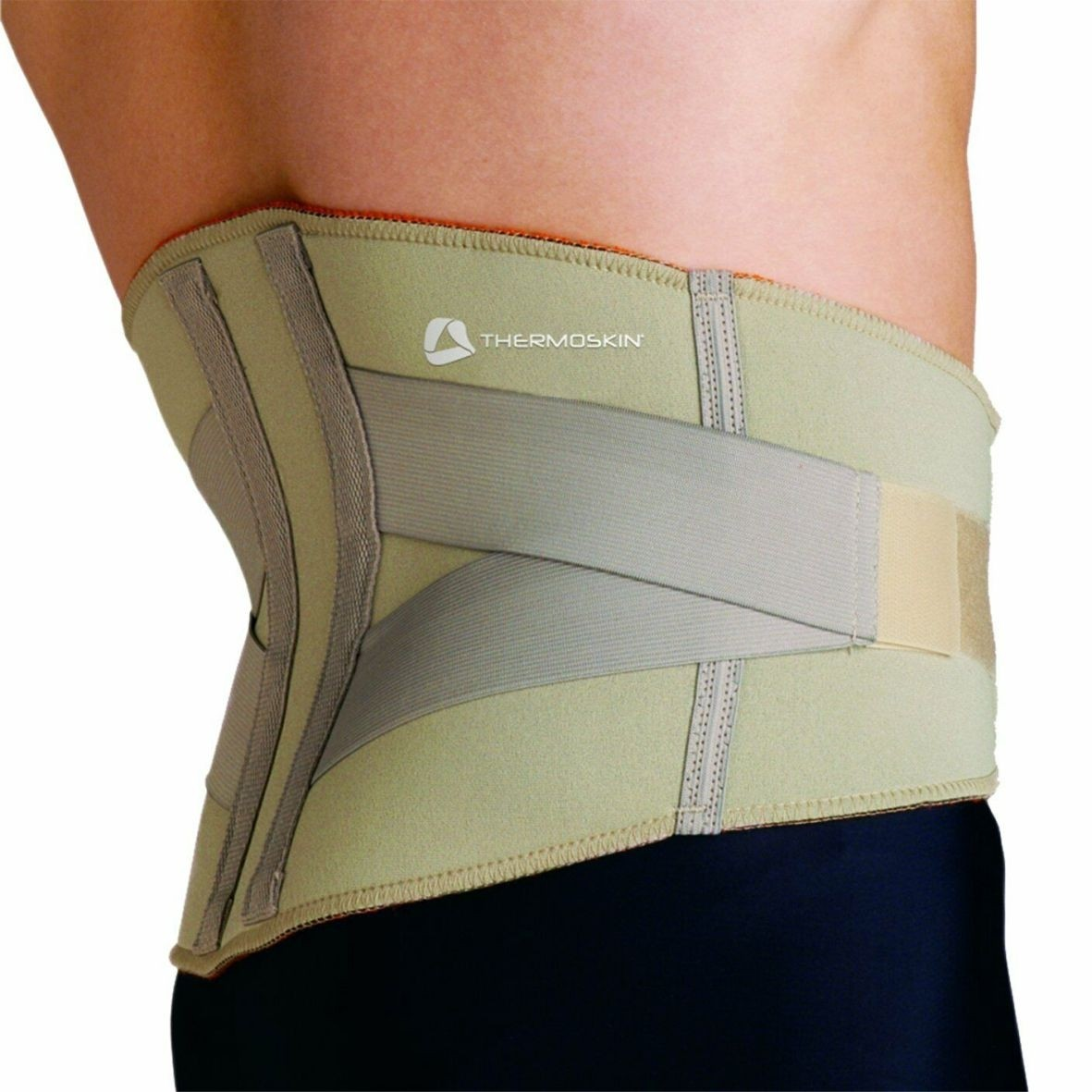 Thermoskin Adjustable Lumbar Support Beige