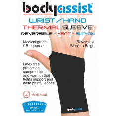 Wrist hand slip on thermal sleeve