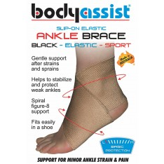 Slip-On Elastic Ankle Brace