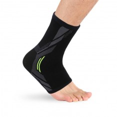 Contoured 4-way Sports Elastic Ankle Sleeve