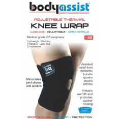 BA Thermal Knee Wrap with Open Patella
