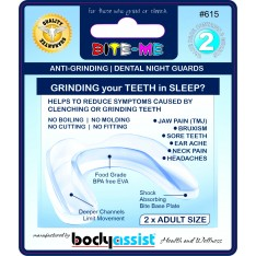 Bite-Me Anti-Grinding Dental Night Guards Value Pack