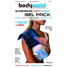 Gel Hot/Cold Pack - Lge Size (200x300mm)