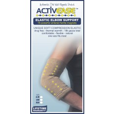 Activease Low Compression Magnetic Elbow Support