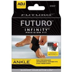 Futuro Precision Fit Ankle Support One Size Adjustable Black