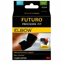 Futuro Precision Fit Elbow Support One Size Adjustable Black