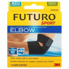 Futuro Sport Adjustable Elbow Support One Size Black