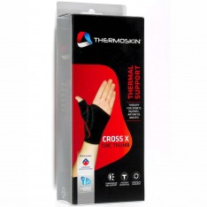 Thermoskin Cross X CMC Thumb Support BLACK LEFT or RIGHT