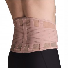 Thermoskin Adjustable Beige Elastic Back Stabiliser